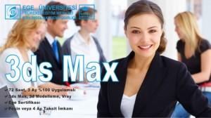 3ds Studio Max Kursu İzmir