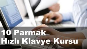 10 Parmak Hızlı Klavye Kursu İzmir