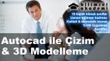 Autocad ile Çizim & 3D Modelleme Kursu İzmir