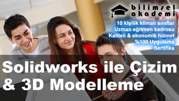 Solidworks ile çizim 3d modelleme kursu