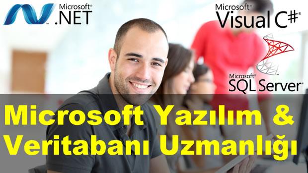 Microsoft Yazılım & Veritabanı Uzmanlığı (MCSD) Eğitimi