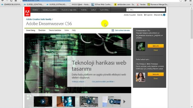 02.01 Web Programlamada Kullanılan Editorler