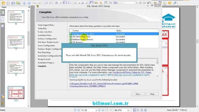 03.03 SQL Server Kurulumu Bölüm2
