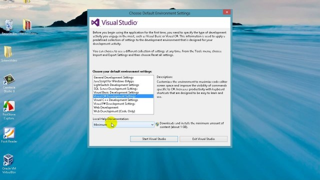03.02 Visual Studio Kurulumu