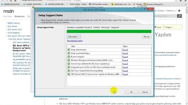03.03 SQL Server Kurulumu Bölüm1