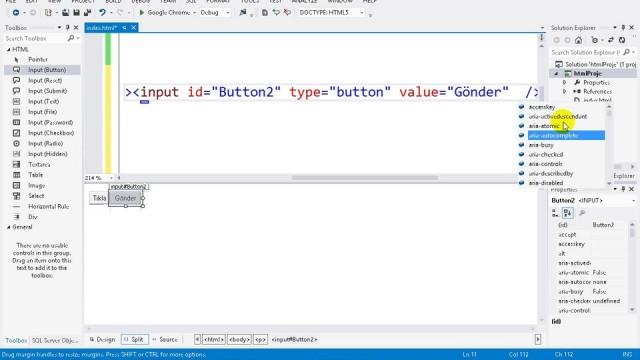 03.05 Projeye HTML Sayfa Ekleme