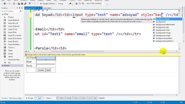 03.08 Projeye CSS Sayfası Ekleme