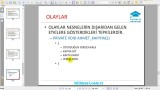 05.03 Olay (Event) ve Olay Güdümlü Programlama