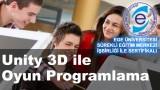 Unity ile Oyun Programlama (2D & 3D) Kursu