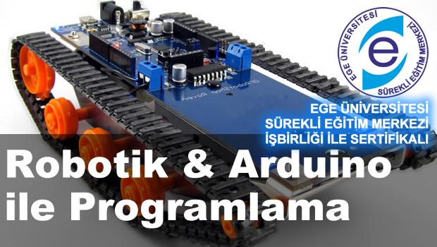 Robotik arduino ile programlama kursunda 100 garantili eğitim