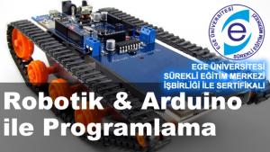 ARDUINO ROBOT ROBOTİK PROGRAMLAMA KURSU İZMİR BİLİMSEL AKADEMİ