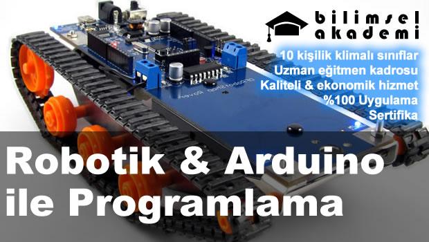 Robotik & Arduino ile Programlama