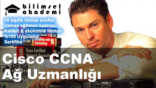 Cisco CCNA Ağ Uzmanlığı Kursu İzmir