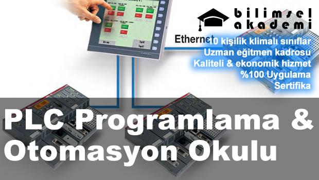 PLC Programlama & Otomasyon Okulu (Temel & İleri Düzey & Ekran)