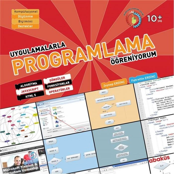 Bilimsel Akademi Fahrettin Erdinç Çocuklar İçin Programlama Kurs Kitabı İzmir