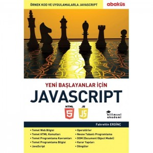 Bilimsel Akademi Fahrettin Erdinç JavaScript Kurs Kitabı