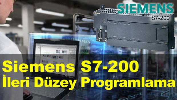 Siemens S7-200 İleri Düzey Programlama Eğitimi