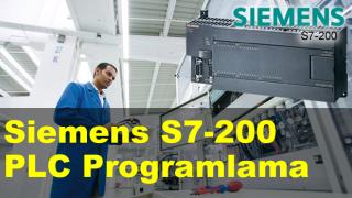 Siemens S7-200 PLC Programlama & Otomasyon