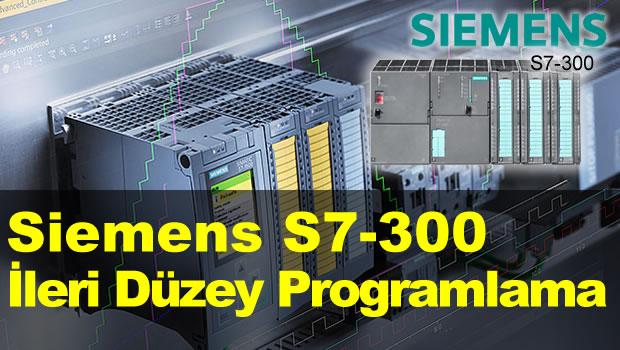 Siemens S7-300 İleri Düzey PLC Programlama Eğitimi