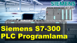 Siemens S7-300 PLC Programlama