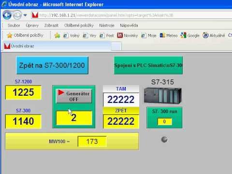 SIEMENS S7 1200 WEB SUNUCU KULLANIMI