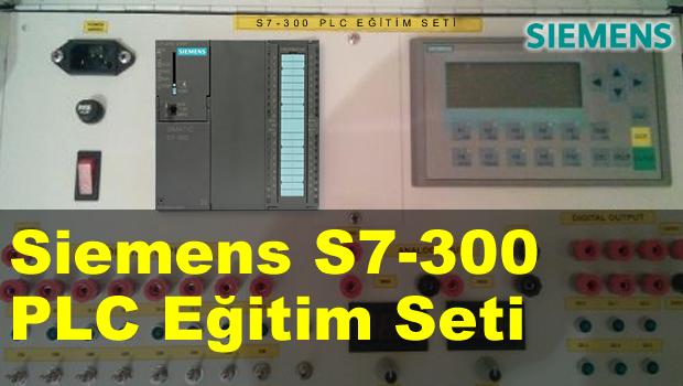Siemens S7-300 PLC Eğitim Seti/Kiti