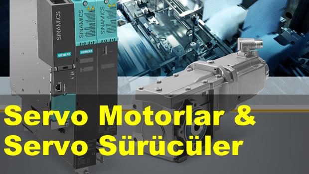 Servo Motorlar & Servo Sürücü Kullanımı