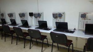 PLC Eğitim laboratuvarı