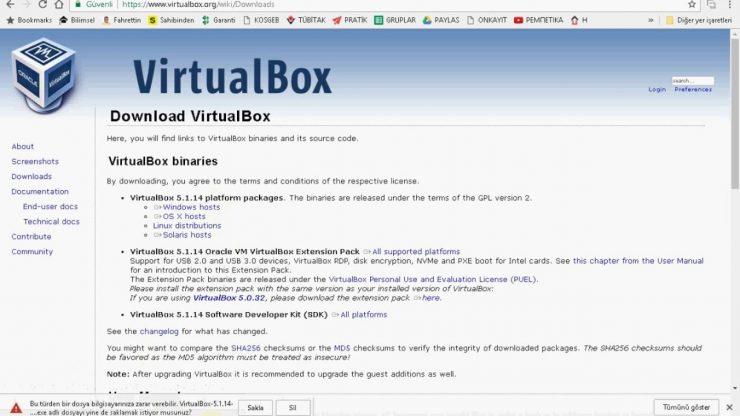 Gerekli işletim sistemine sahip olmayan bilgisayarlara VirtualBox ile sanallaştırma yaparak istediğiniz işletim sistemini kurabilir, Simatic Manager, Win CC SCADA veya TIA Portal ile program yazabilirsiniz.