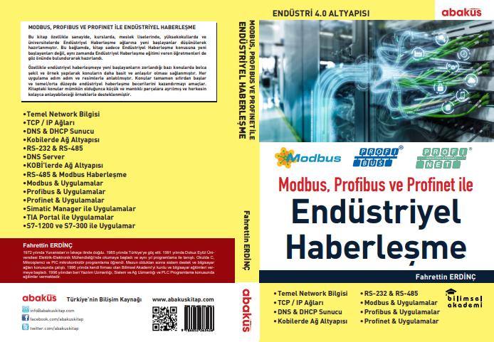 Fahrettin Erdinç Hocamızın Modbus, Profibus ve Profinet'le Endüstriyel Haberleşme Kitabı Yakında Kitapçılarda!