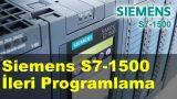 Siemens S7-1500 İleri Düzey PLC Programlama