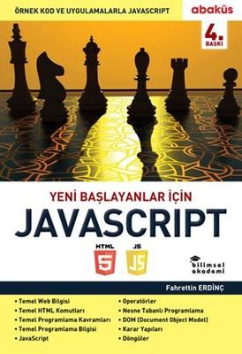 Fahrettin Erdinç Kitap Yeni Başlayanlar için Javascript